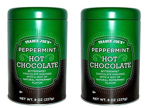 (Peppermint Hot Chocolate 8 oz. (Pack of 2 Tin Cans))