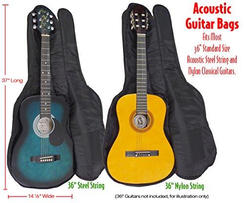 Performance Plus GB160 Guitar Gig Bag Ballistic Grade Nylon for 36