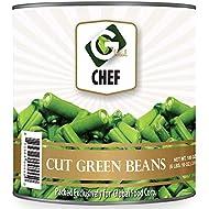 Global Chef - Cut Green Beans - 100oz (2.84kg) - JUMBO size