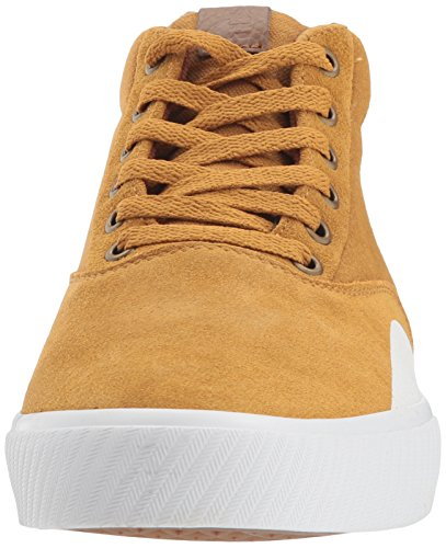 Etnies Men's Jameson Vulc Mt Skate Shoe, Black Tan/Brown/White