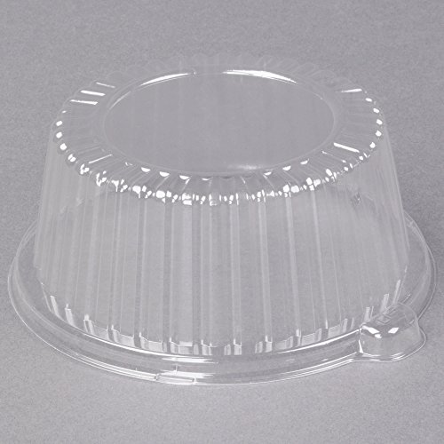 TableTop King CL6P 6'' Clear Dome Lid for Foam Dinnerware - 500/Case by TableTop King