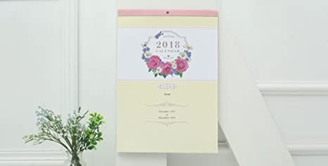 Mkiljnh moderne simple style bureau flip calendrier mois à vue stand