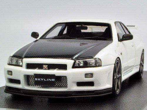 1/43 Nissan Skyline GT-R VspecII N1 (R34) White 8358