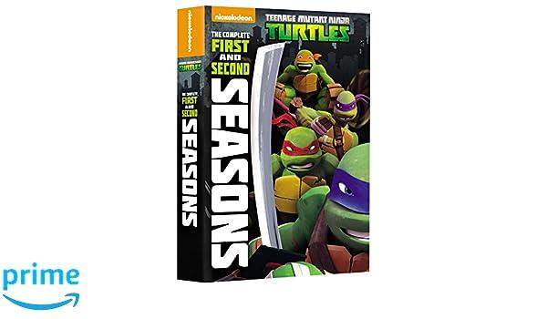 Teenage Mutant Ninja Turtles: Comp 1St & 2Nd Ssn 8 Dvd ...