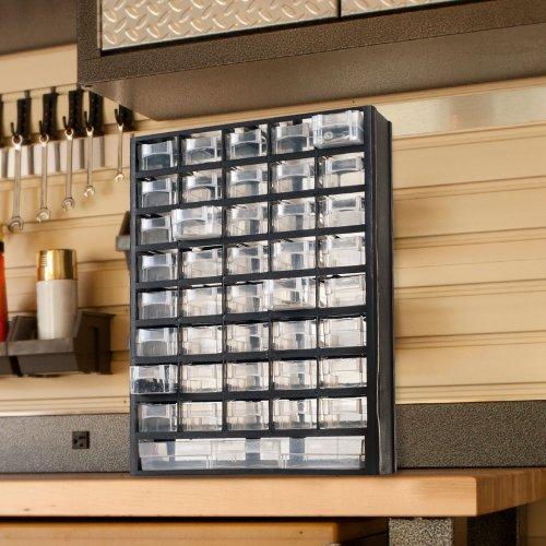 Stalwart 41 Compartment Hardware Storage Box by Stalwart
