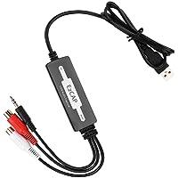 USB Audio Capture Recorder Card Converteert Vinyl Turntable LP/Cassette Tape Audio naar MP3/WAV Digital Music Converter…