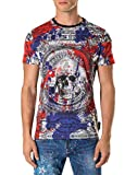 PHILIPP PLEIN Men's T-shirt Herb - multicoloured, XXL