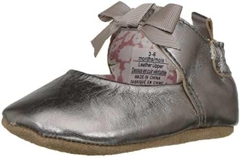 Robeez Girls' Amelia Ankle Strap Mary Jane