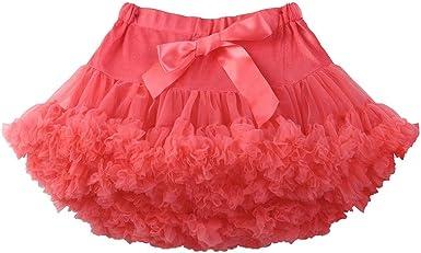 Luckycat Vestido de Fiesta de Tul Encaje Falda de Princesa para ...