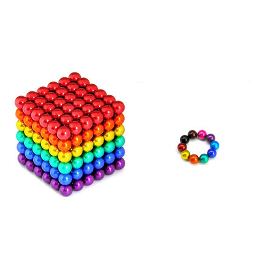 XHN Buck Ball Magic Building Ball Toys 5MM,216 pcs Balls Building Blocks Toy Relief Stress and Brain Training for Kids and Adult-C by XHN