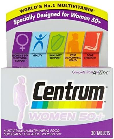 Centrum Women 50 plus - Pack of 30 Tablets