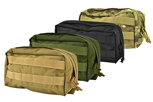 Flyye Industries Horizontal Modular MOLLE SpecOps Thin Utility Pouch-Select Color: Genuine Multicam - $22.95