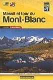Massif et tour du Mont-Blanc : 1/50 000