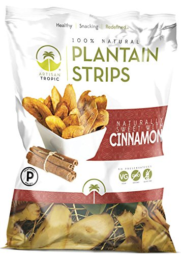 Price comparison product image Artisan Tropic Plantain Strips,  Cinnamon,  Cooked in Sustainable Palm Oil,  Paleo Certified,  1.75 Oz