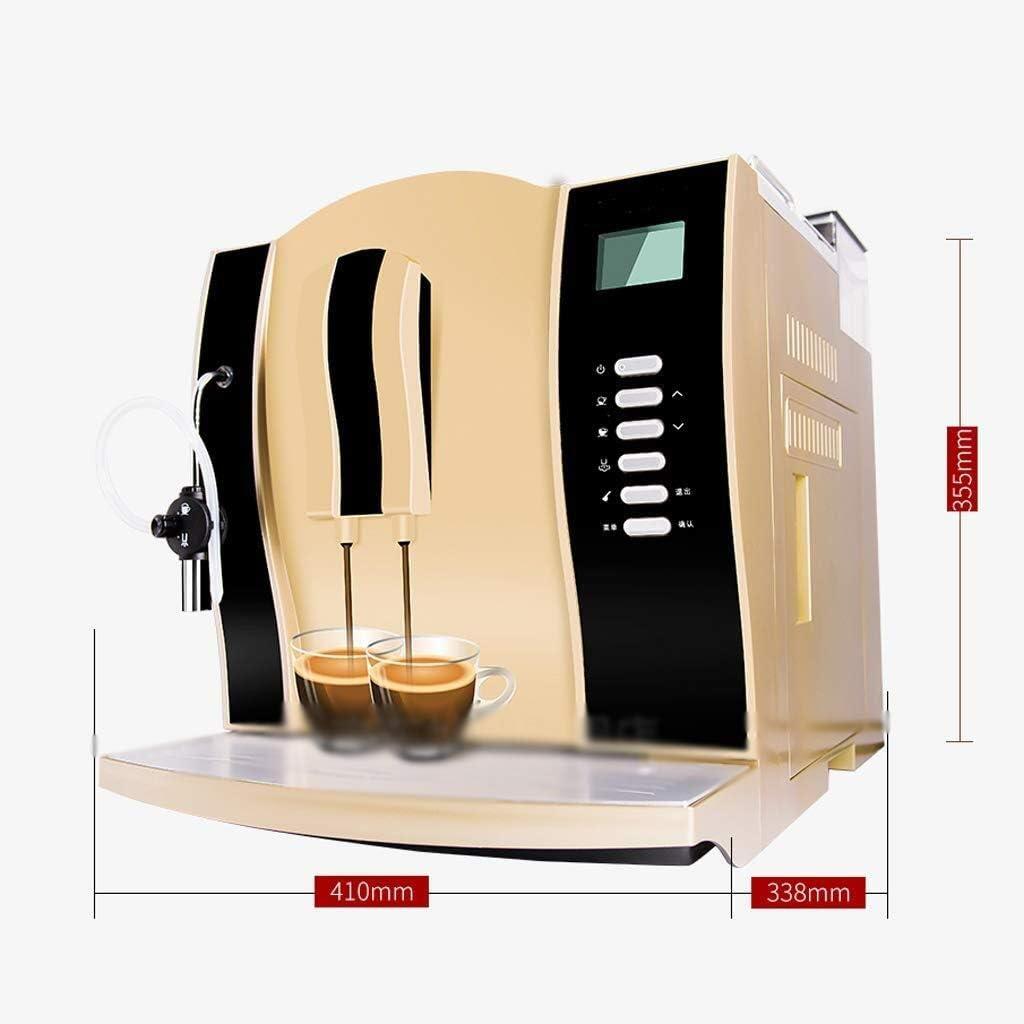 ZHQHYQHHX Cafetera Máquina de café Completamente automática ...
