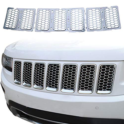 jeep cherokee chrome grill - 3