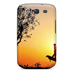 New Style AnnetteL Love In Silhoutte Premium Tpu Cover Case For Galaxy S3 by lolosakes