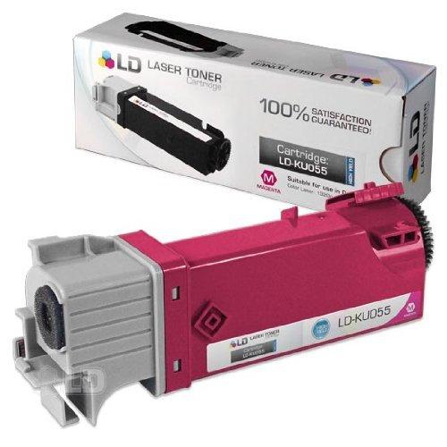 LD Ã'© Compatible Toner to replace Dell KU055 (310-9064) High Yield Magenta...