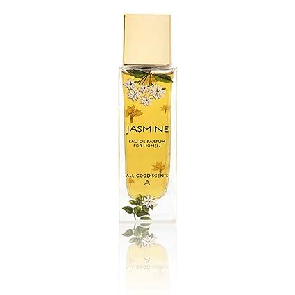 All Good Scents Jasmine Perfume for Women (EDP), Scent for Women, Eau De  Parfum - Fragrance Made In France, Long Lasting Body Spray Perfume for  Women