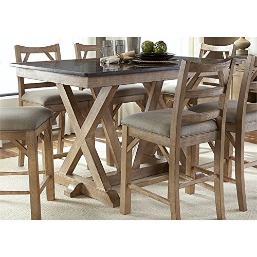 West Valley 60'' Rectangular Bluestone Gathering Table - by A-America (Image #1)