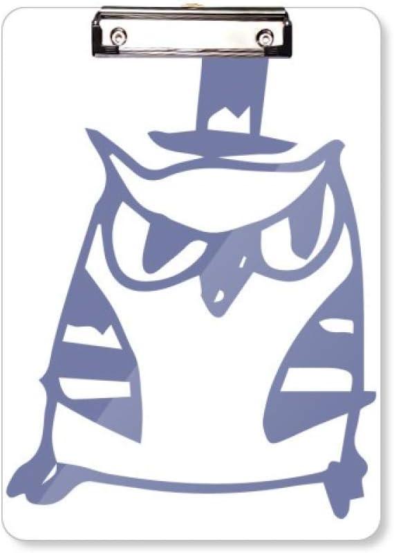 Carpeta de cartón con diseño de gorro de dibujos animados, protección para pájaros, para amantes de las mascotas, tamaño A4
