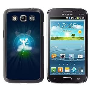 TopCaseStore / la caja del caucho duro de la cubierta de protección de la piel - Libra Zodiac Sign - Samsung Galaxy Win I8550 I8552 Grand Quattro