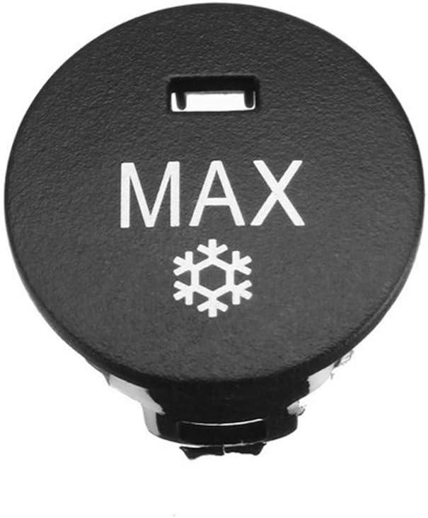 Riposo Wyx-KONGTIAONIU 1pc auto OFF Max Climate Control Knob pannello interruttori manopole Pulsante condizionatore daria Pulsante di riparazione della copertura della protezione for BMW Serie 5
