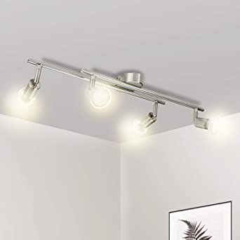 Luminaire Plafonnier LED, Wowatt Applique Lampe Spots de Plafond ...