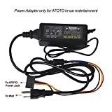 ATOTO AC-10V1 Power Adapter, Transformers, Power Supply For ATOTO A6Y Series Android Car Stereo, Output 12V DC, 5A Max