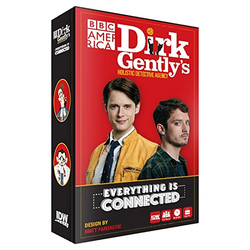 IDW Games Dirk Gently's Holistic Detective Agency: Everything is Connected Party Card Game