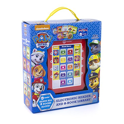 Nickelodeon - Paw Patrol Me Reader Electronic Reader and 8-Book Library - PI Kids (Best Gifts For 3 Year Old Boy)