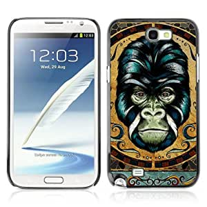 Designer Depo Hard Protection Case for Samsung Galaxy Note 2 N7100 / Detailed Gorilla