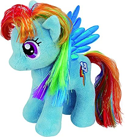 Ty - My Little Pony Rainbow Dash, 28 cm (United Labels Ibérica 90205TY): Amazon.es: Juguetes y juegos