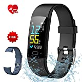 Fitness Tracker Semaco, Heart Rate Monitor Silm HR Activity Tracker Smart Wristband B