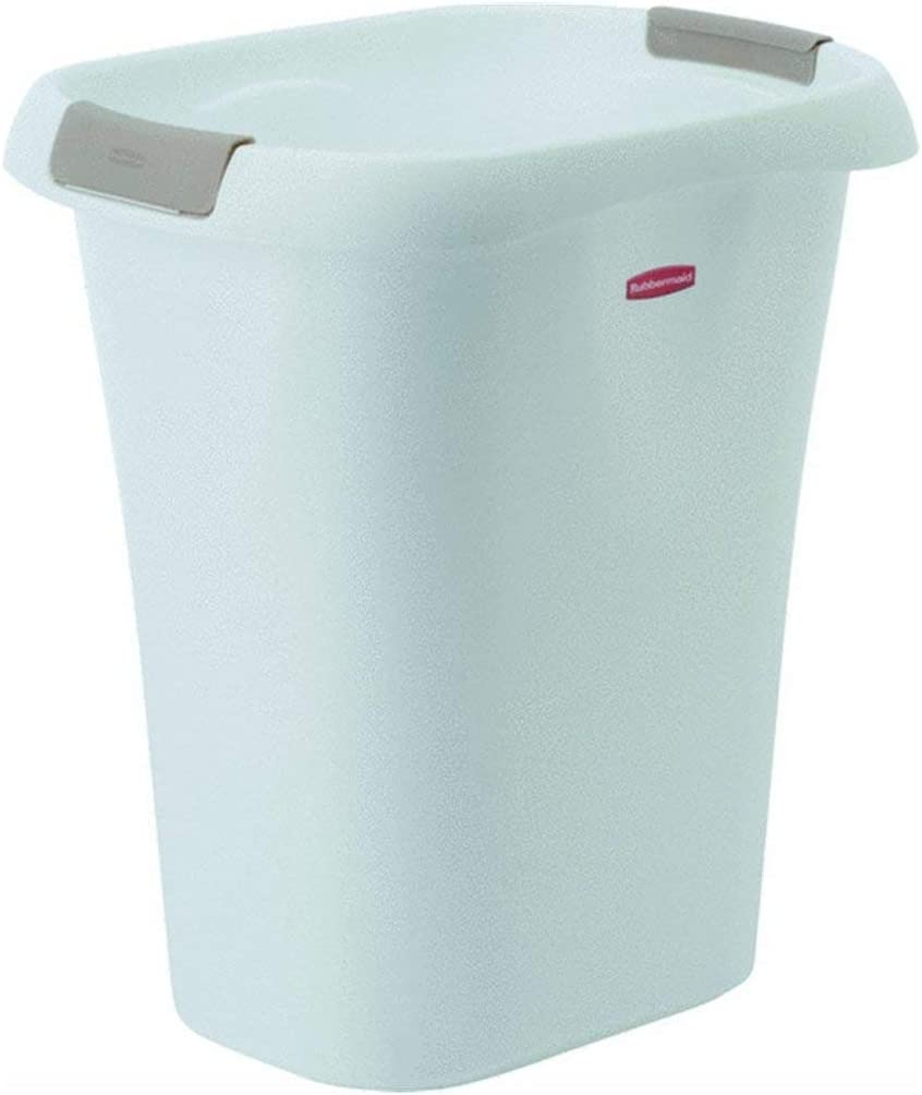 Rubbermaid Open Wastebasket, 21-Quart, White