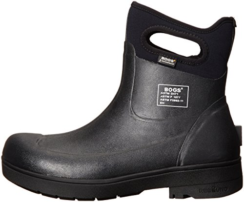 Bogs Men's Turf Stomper Insulated Work Boot, Black, 12 M US by Bogs (Image #5)