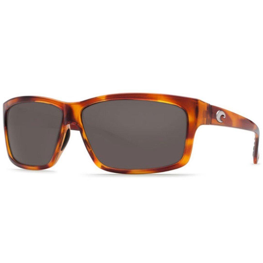 Costa Del Mar Cut Sunglasses, Honey Tortoise, Gray 580P Lens