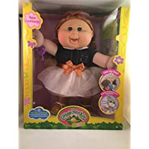 Cabbage Patch Kids 14 Inch Kid, Caucasian Blonde and Green Eyes Girl Doll (Cowgirl Fashion)