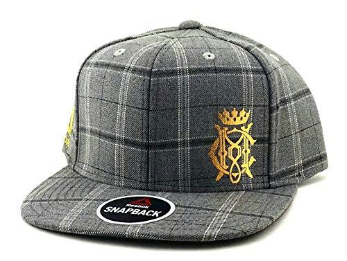 d8bb620952812 Reebok UFC New RBK MMA Gray Conor McGregor Plaid Fighter's Era Snapback Hat  Cap