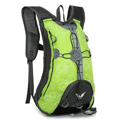 ZC&J Al aire libre hombres y mujeres mochila de montar universal, multi-funcional, de 15 litros de gran capacidad mochila, nylon material práctico resistente al desgaste resistente al desgarro mochila C
