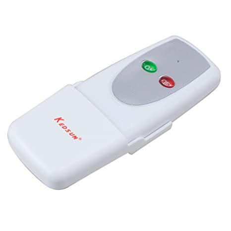 KEDSUM Wireless 1 Way ON/OFF Digital Remote Control Switch 110V For on