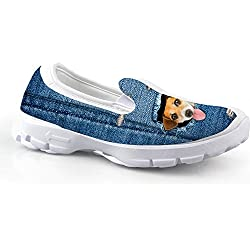 Fashion Cat Pattern Gril's Shoes Platform Ladies Loafers 35