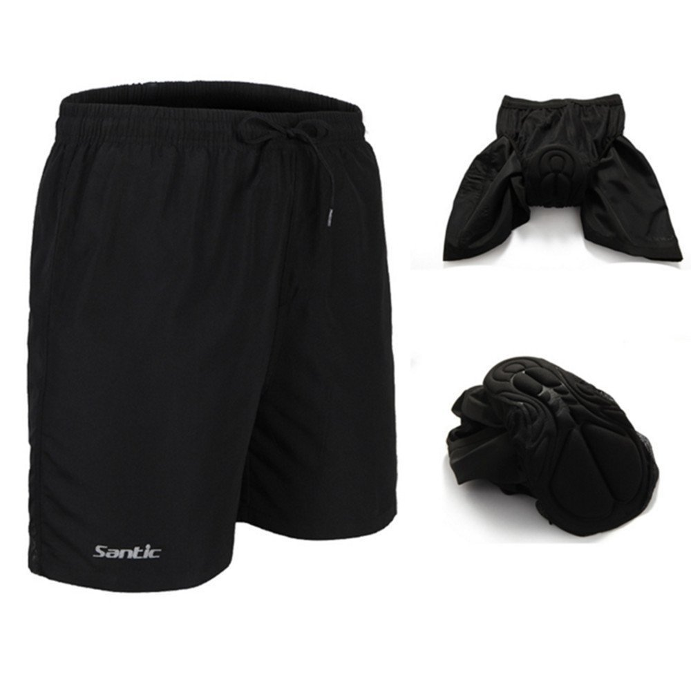 Santic Men's 4D Padded Bikes Shorts Loose Comfort Breathable Fitting Mountain Bike Shorts SANTIC(QUANZHOU) SPORTS CO. LTD.