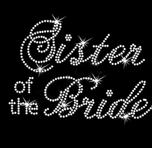 Sister Bride Rhinestone Iron Transfer product image