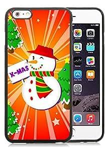 diy phone caseBest Buy iPhone 6 Plus Case,Christmas snowman Black iPhone 6 Plus 5.5 TPU Case 9diy phone case