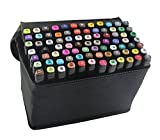 Best Art Markers - 40 Colors Dual Tip Marker Pen Waterproof Professional Review