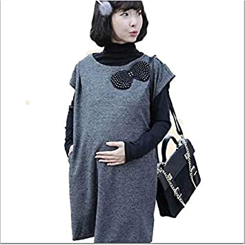 e7fe2679adf Amazon.com   Wholesale spring new maternity pregnant women dress vest skirt fashion  DRESS maternity dress YYT034   Baby