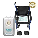 Chair Alarm System by Vive - Medical Fall Prevention Alert System for Wheelchair, Dementia Patients, Elderly, Adults, Seniors & Children - Monitor & Mat for Home & Hospital