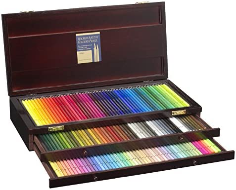 150 color wood box-set Holbein colored pencil (japan import)