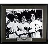 Yankees Legends Feat. Joe DiMaggio, Yogi Berra & Mickey Mantle 16x20 Photograph (SGA Signature Series) Framed